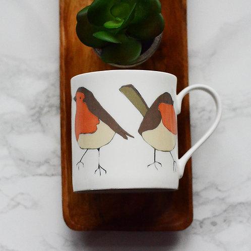 Robin Fine Bone China Mug