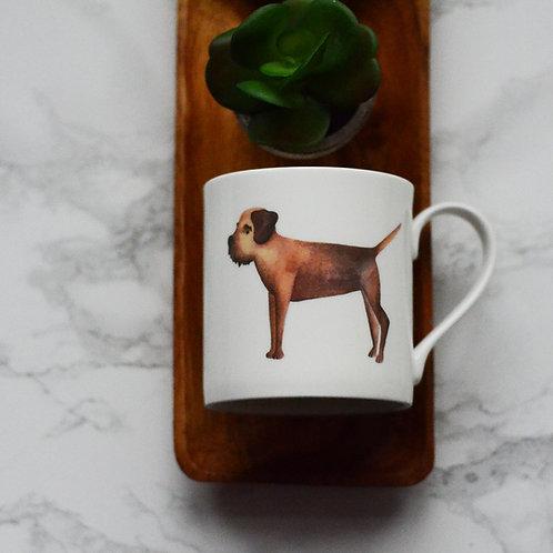 Border Terrier Fine Bone China Mug