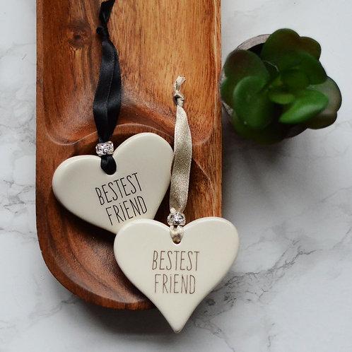 Friend Ceramic Heart