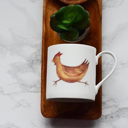 Chicken Fine Bone China Mug