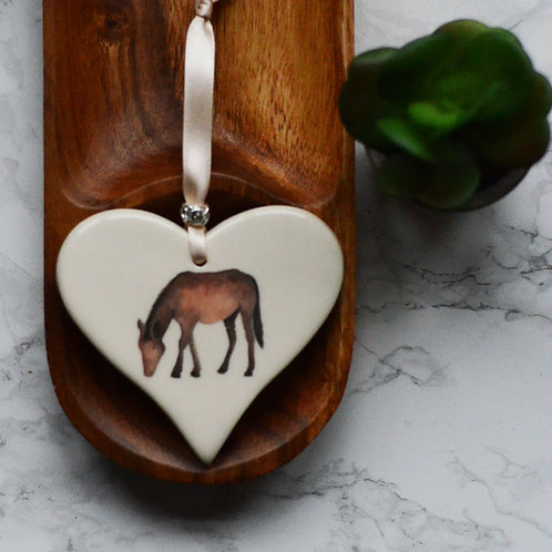 Farmyard Animals Heart
