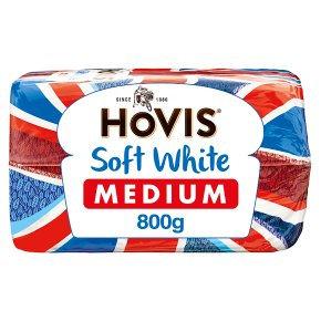 Hovis Soft White Medium Bread 800G