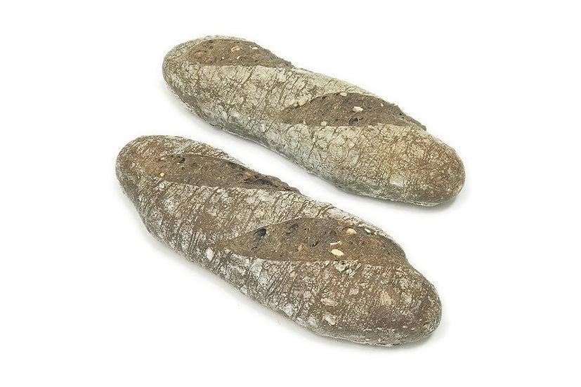 Multigrain Sourdough Baguette (Pack of 2)