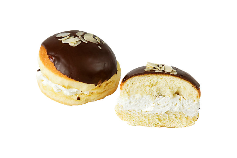 Almond and Cream Doughnut (Pack of 2)