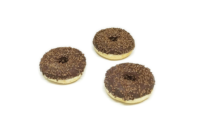 Chocolate Ring Doughnuts (Pack of 2)