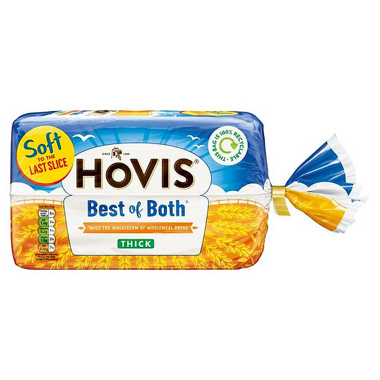 Hovis Best Of Of Both Thick 750G