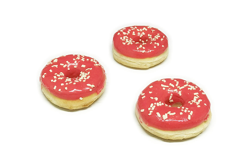 Strawberry Ring Doughnuts (Pack of 2)