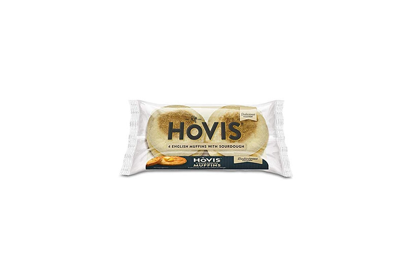 Hovis 4 English Muffins With Sourdough