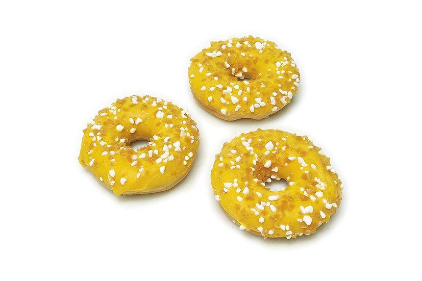Mango & Passion Fruit Doughnuts (Pack of 2)