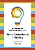 APG Creative Strategy Awards 2017