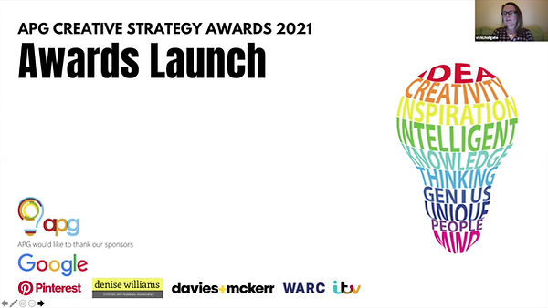 APG Launch the 2021 Awards