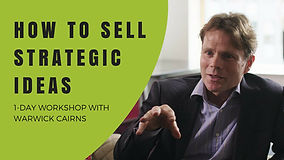 How to Sell Strategic Ideas