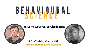 Behavioural Science to solve Adverting Challenges