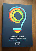 APG Creative Strategy Awards 2015