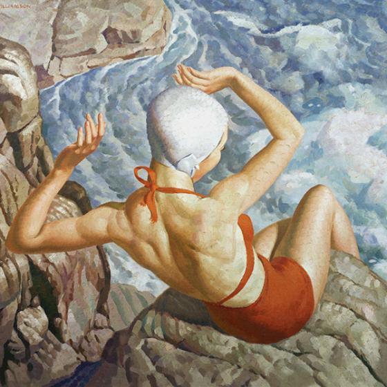 Spray (1940) by Harold Williamson
