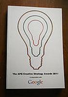 APG Creative Strategy Awards 2011