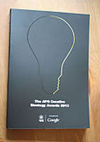 APG Creative Strategy Awards 2013