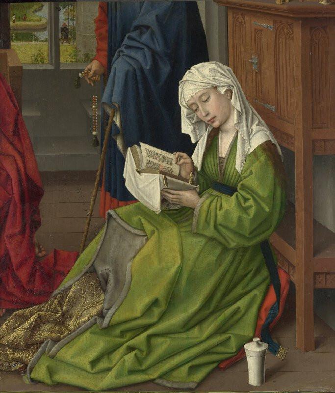 The Magdalen Reading/ Rogier van der Weyden