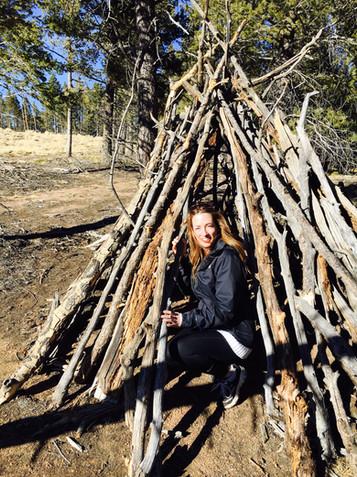 A Bigfoot nest.