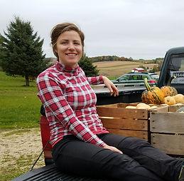 Madeline Neenan at Driftless Orchard