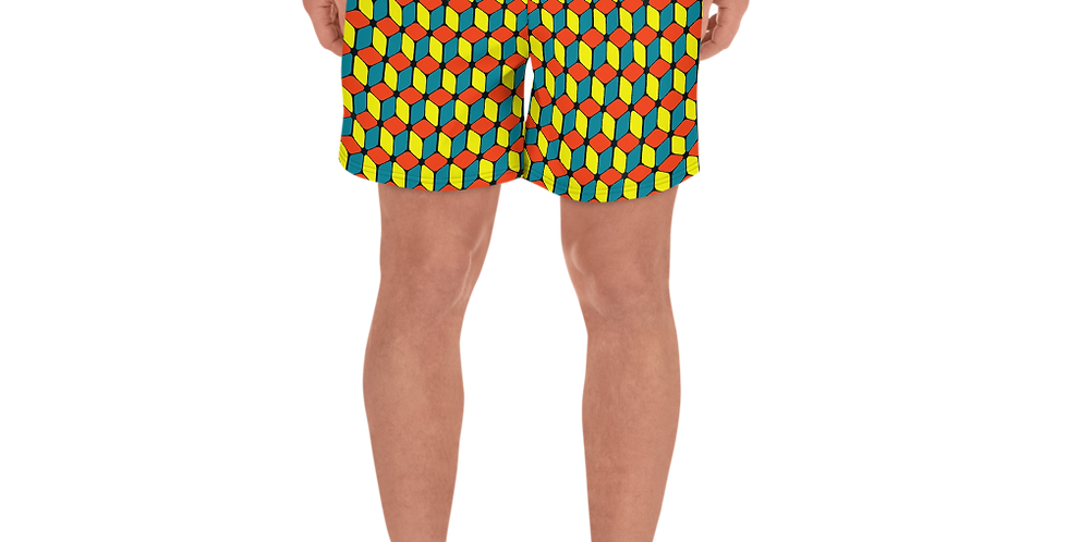 Brick Boy Men's Athletic Long Shorts
