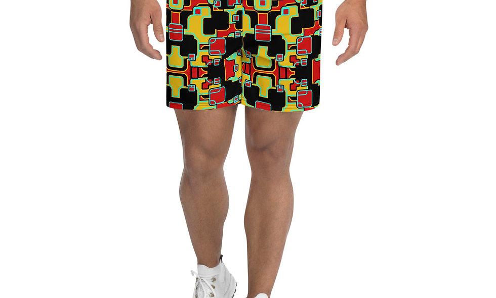 Bold Hero Men's Athletic Long Shorts