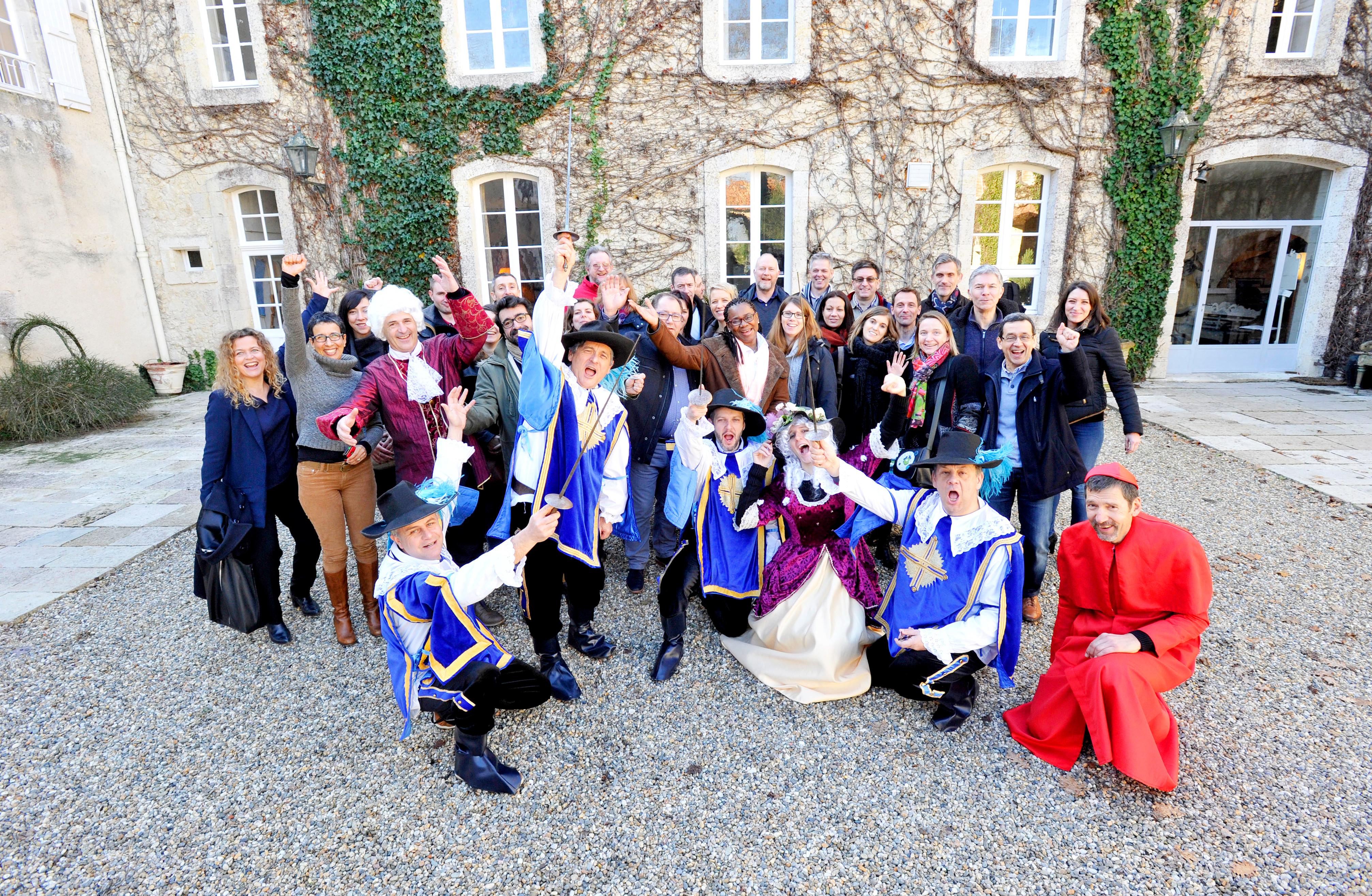 Chateau Malliac séminaire entreprise