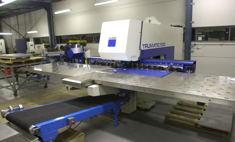 CNC Punch at Interfab Sheetmetal
