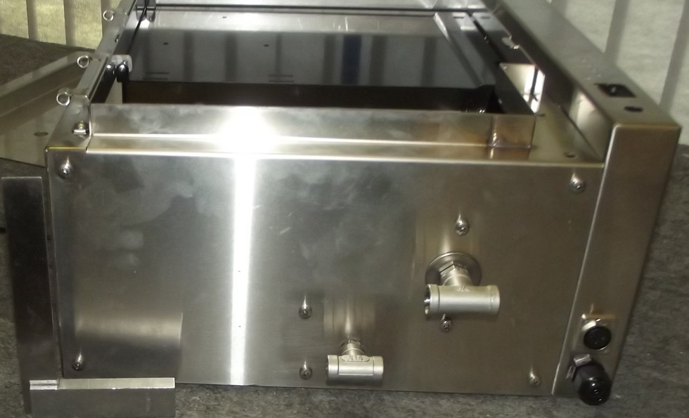 Stainless Steel Sheetmetal Welding Services at Interfab