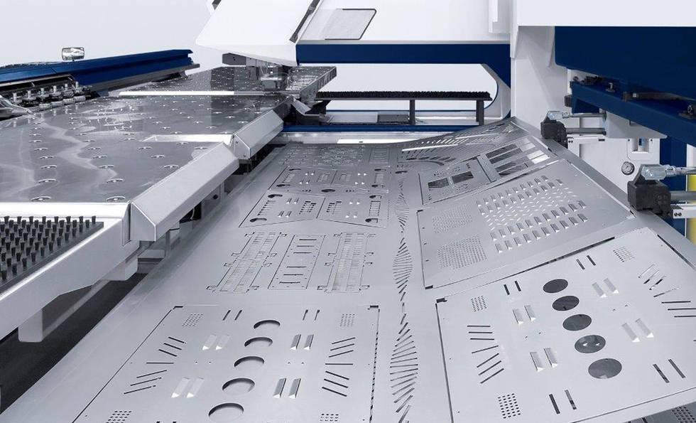 High Tech CNC Punch Machinery at Interfab