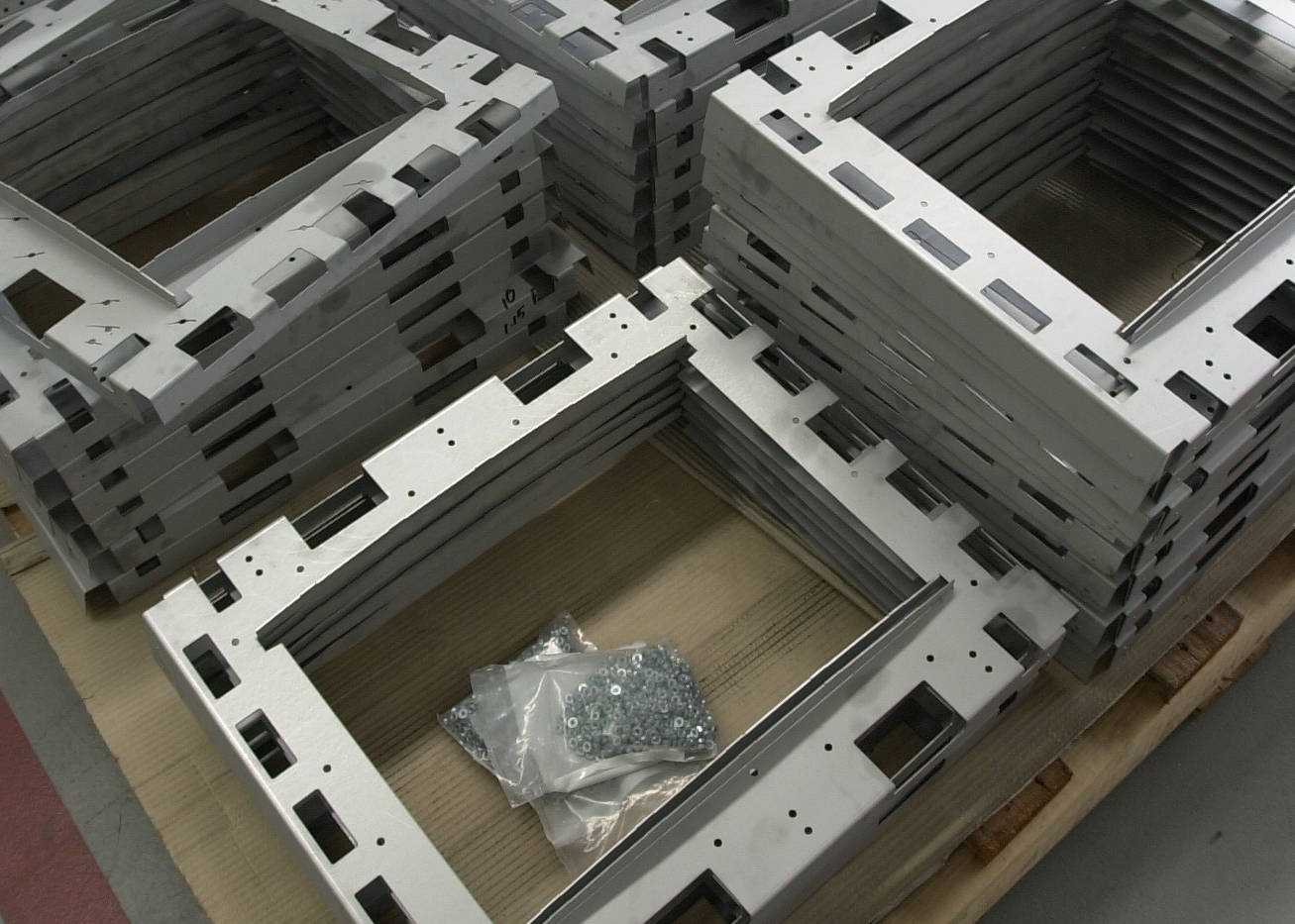 CNC Laser Cut and Press