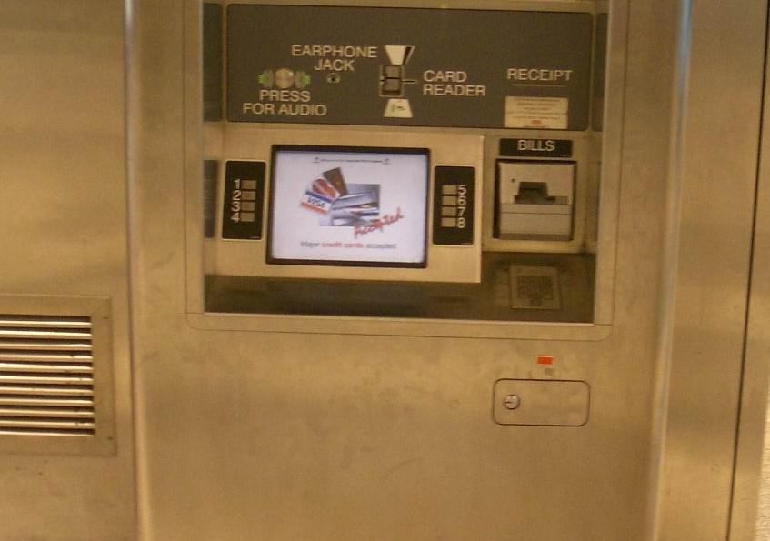 Interfab Stainless Steel Fabrication - Ticket Vending Machine