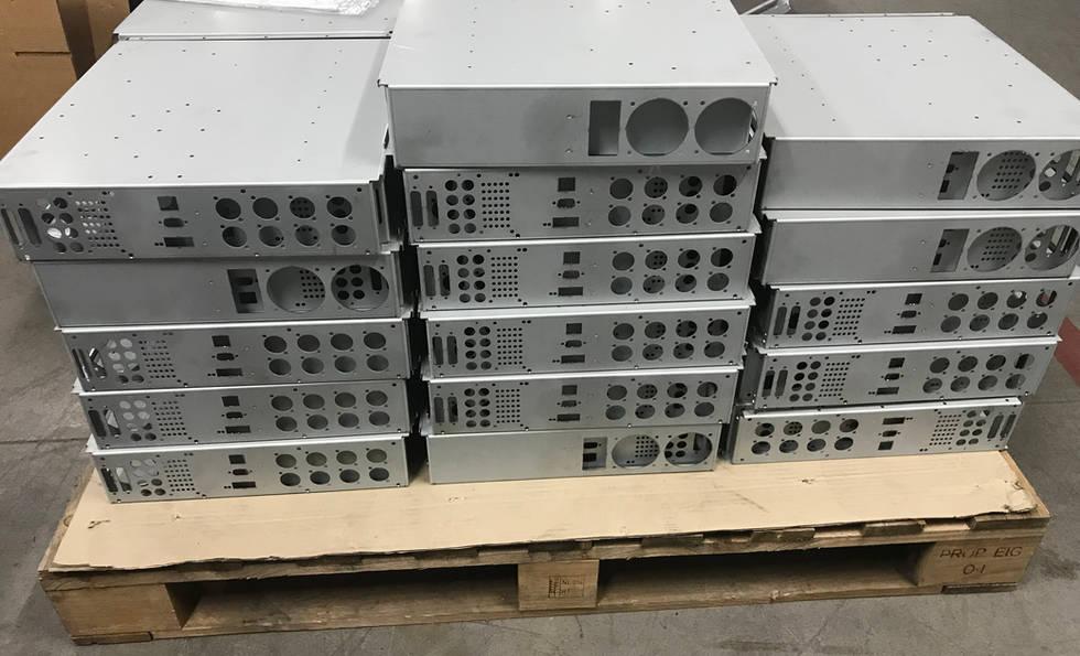 Sheetmetal Fabrication of Electronics Enclosures