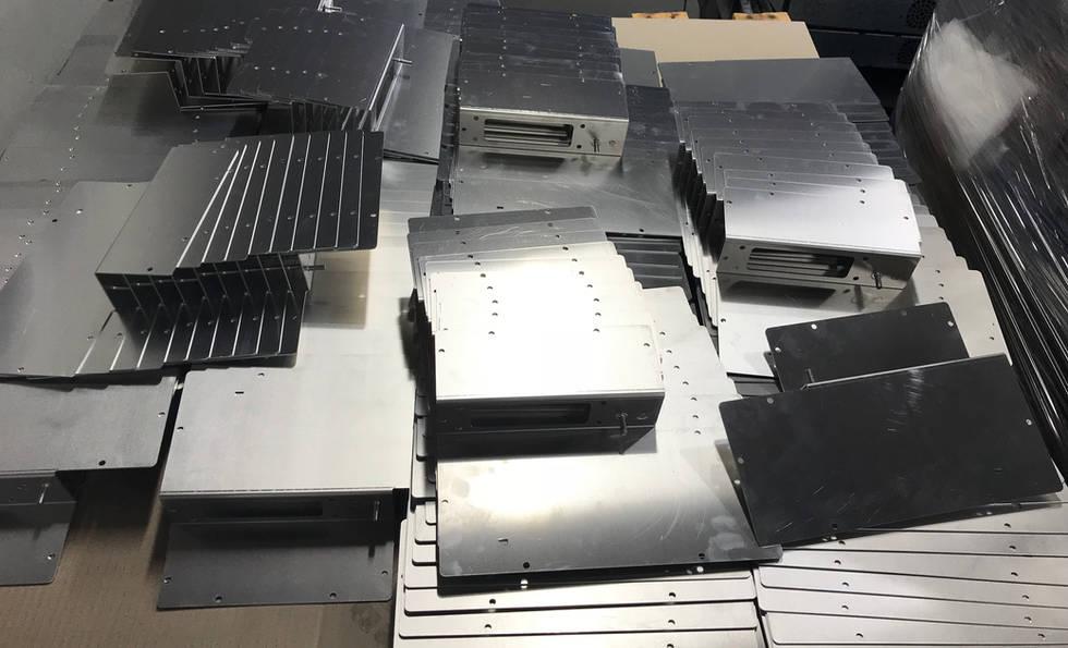 Laser Cut and Fold Sheetmetal