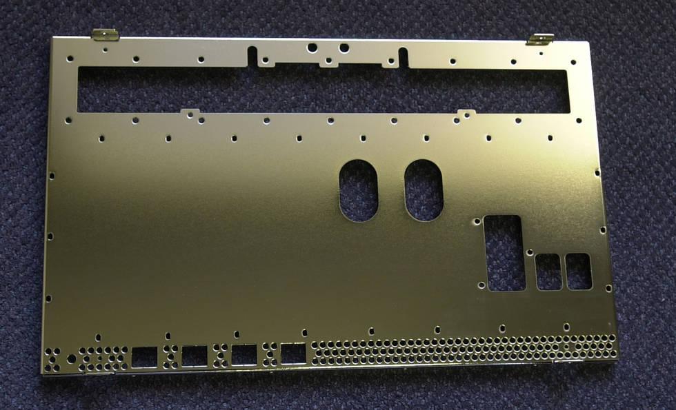 Interfab Aluminium Plated Manufactured Sheet Metal Parts