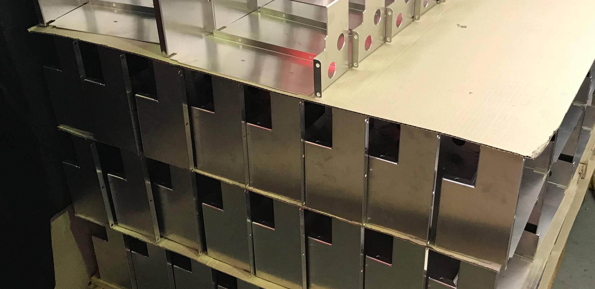 Aluminium Sheetmetal Laser Cut, Bend and Ready for Welding