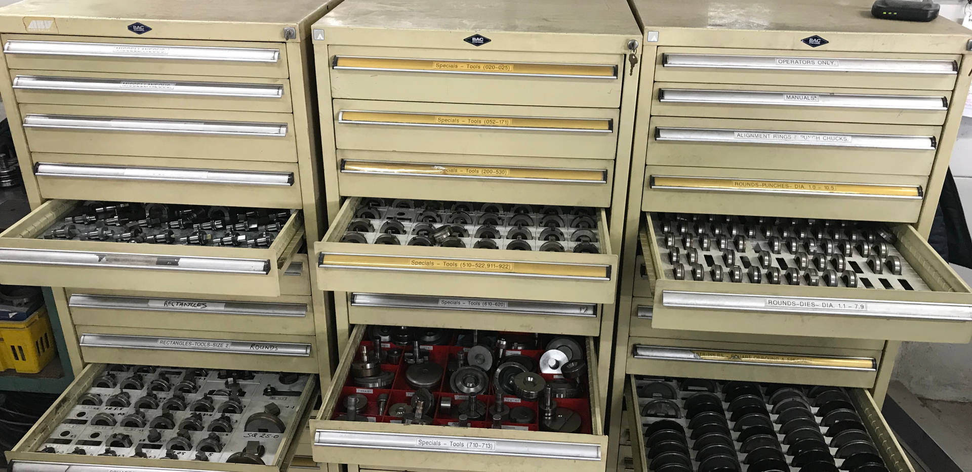 Significant Range of CNC Punch and Forming Tooling