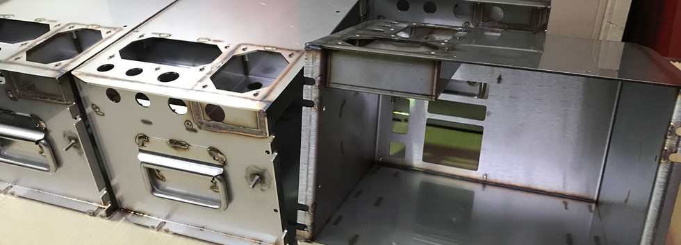 Stainless Steel Tig Welding of Explosion Proof Boxes