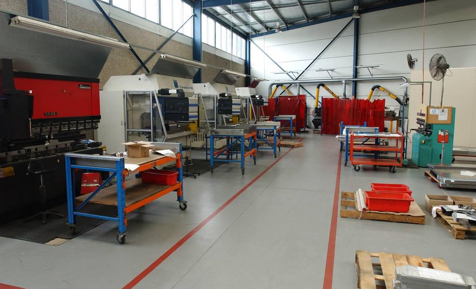 Sheetmetal CNC Bending - Folding Machines at Interfab in Sydney