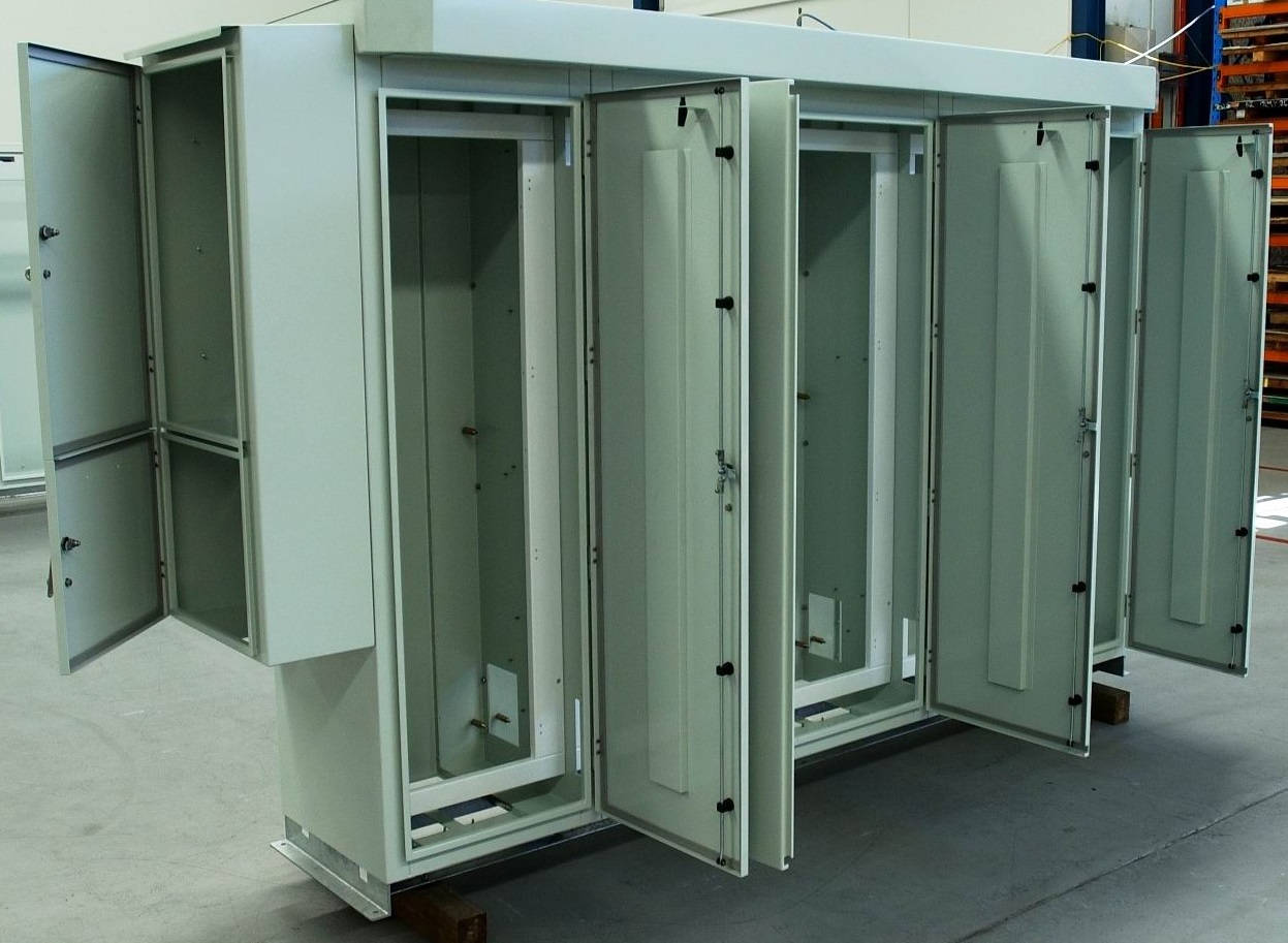 Powder Coated and Assembled Enclosures