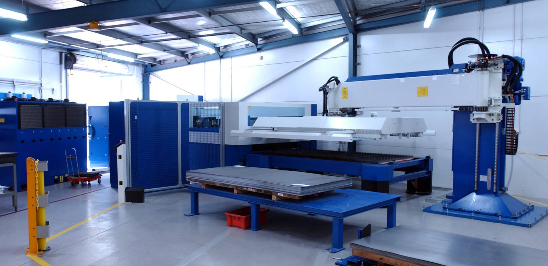 CNC Laser Cutting with Automatic Sheet Feeder at Interfab in Sydney