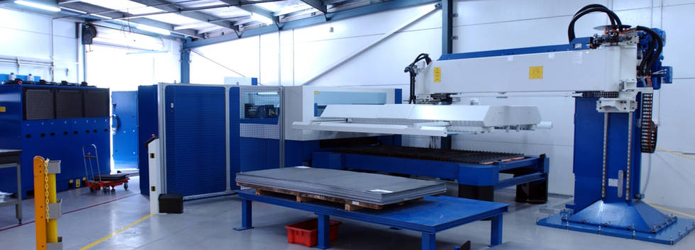 CNC Laser Cutting with Automatic Sheet Feeder at Interfab in Sydney