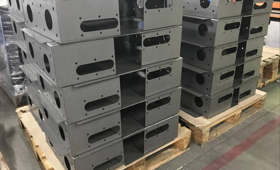 Custom Metal Fabrication at Interfab