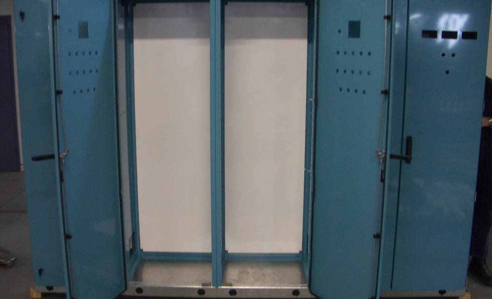 Powder Coated Electrical Cabinet