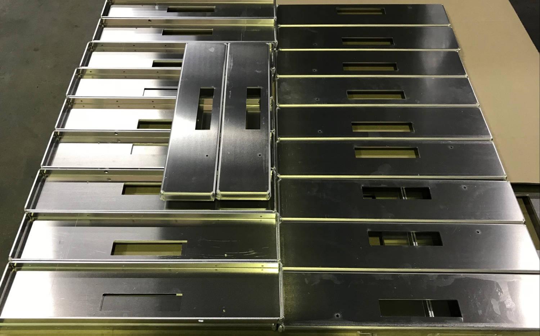 Aluminium Sheetmetal Cut and Fold