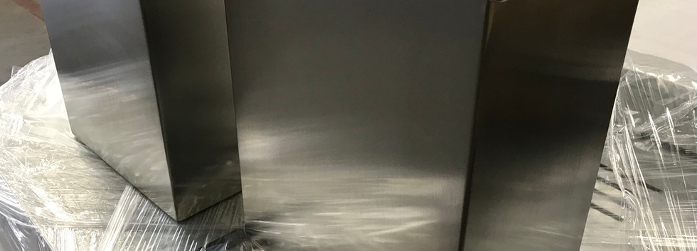 Linished Stainless Steel after Welding
