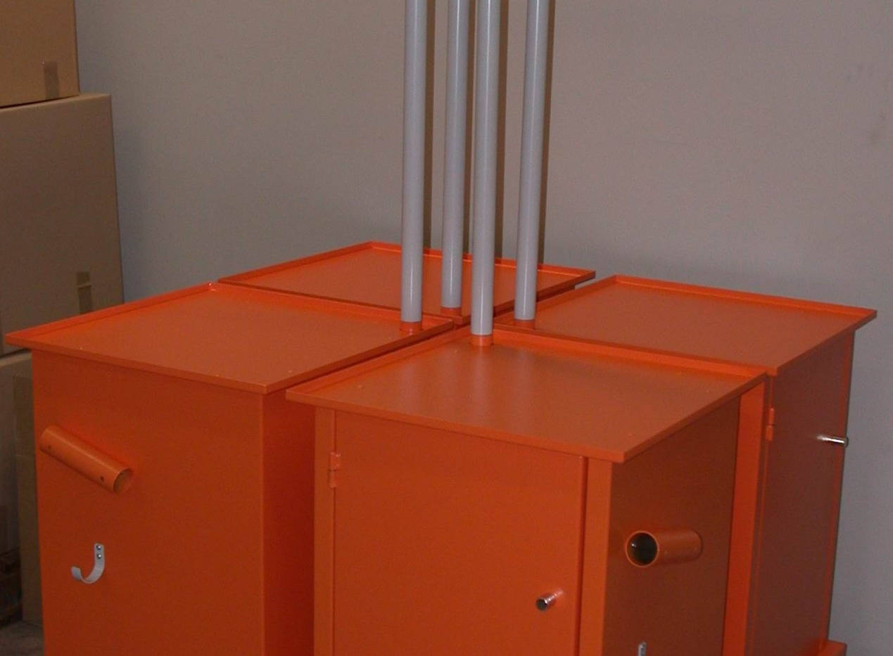 Powder Coated and Assembled Secure Enclosures by Interfab