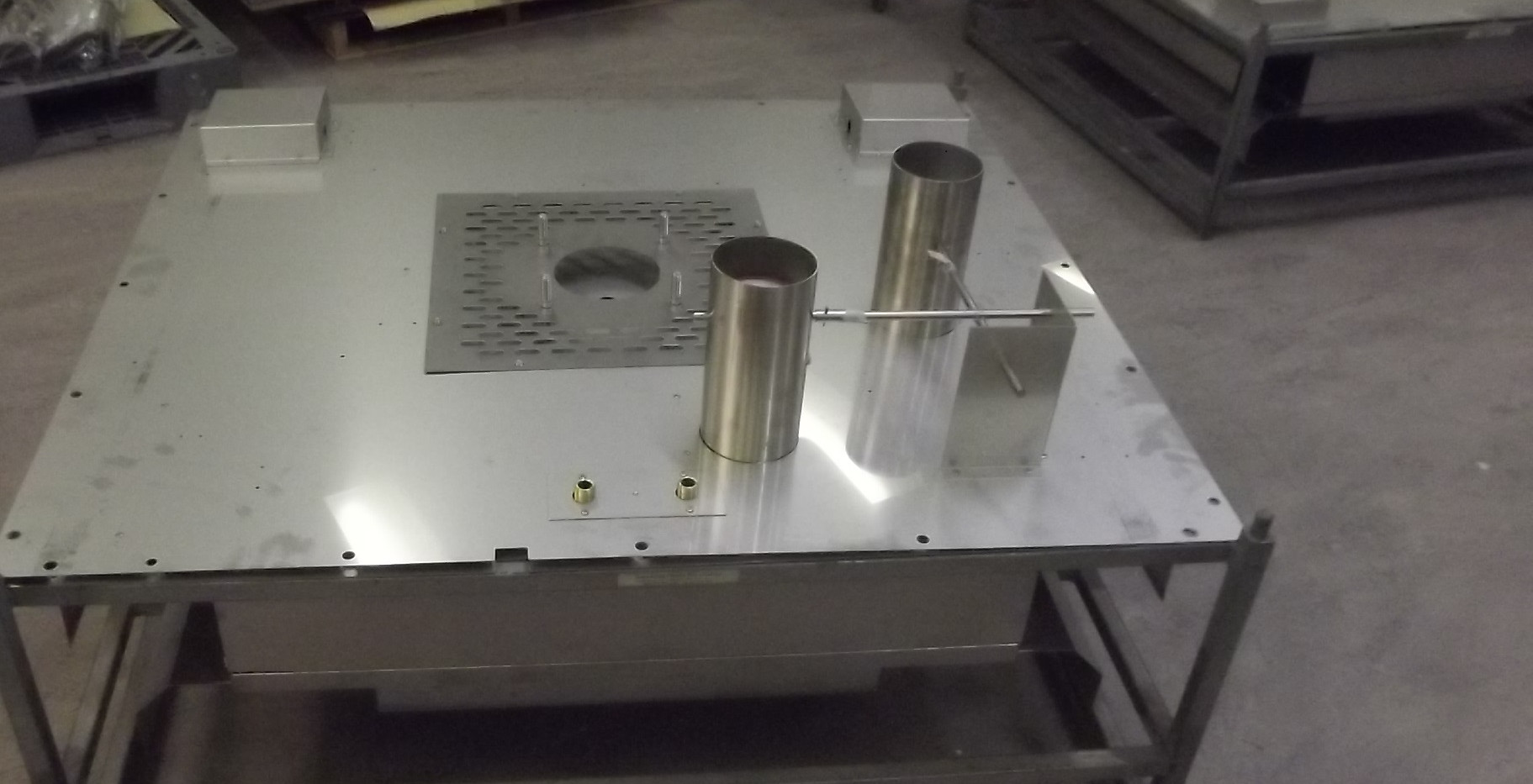 Welding Stainless Steel Ovens