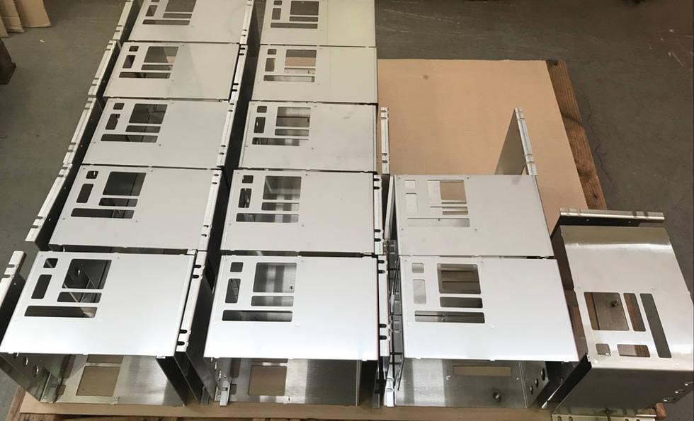 Stainless Steel Sheetmetal Laser Cut and Fold at Interfab