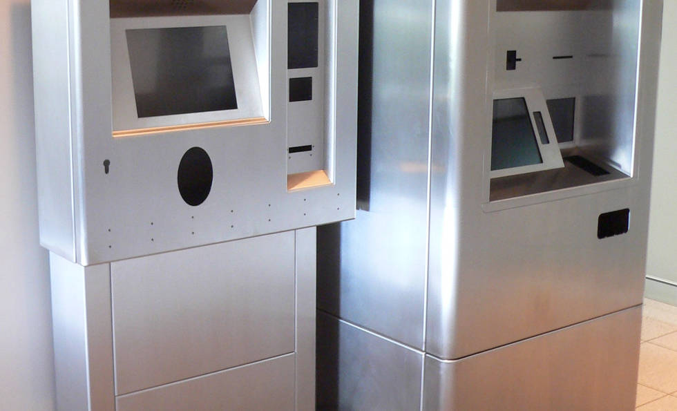 Ticket Vending Machines Manufactured and Assembled by Interfab